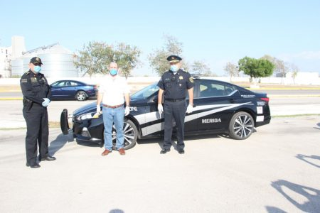 Gobierno de Yucatán entrega 10 nuevas patrullas a la Policía Municipal de Mérida