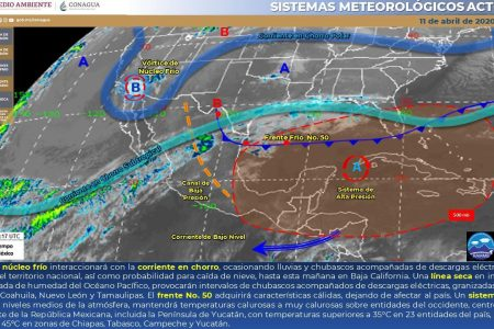 Conagua pronostica 43°C  en Mérida; ayer fueron 42.7°C y 45°C en Motul