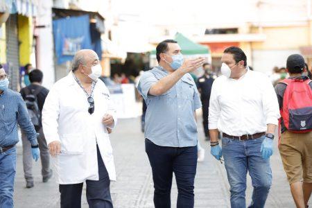 Mérida, en el camino correcto para vencer al Covid-19: Renán Barrera