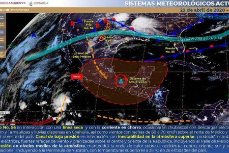 Pronostican calorón de 41 grados en Mérida… y todavía falta mayo