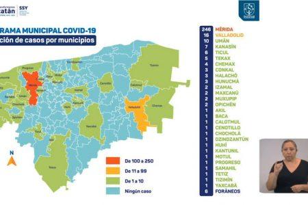 Fatal domingo de Covid-19 en Yucatán: cuatro fallecidos y 331 casos acumulados
