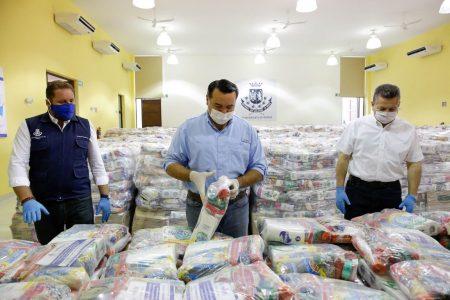 Arranca en el sur meridano la segunda etapa de reparto de apoyos alimentarios