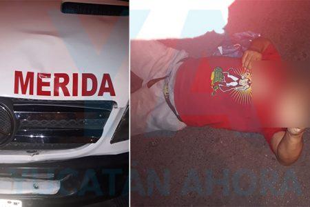 Taxi colectivo atropella a un hombre de la tercera edad en el Centro
