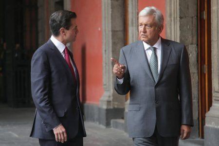 Gobierno federal no investiga a Peña Nieto, asegura López Obrador