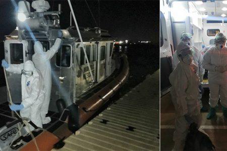 Desembarcan a los 48 pasajeros del crucero varado frente a Progreso: 15 tienen Covid-19