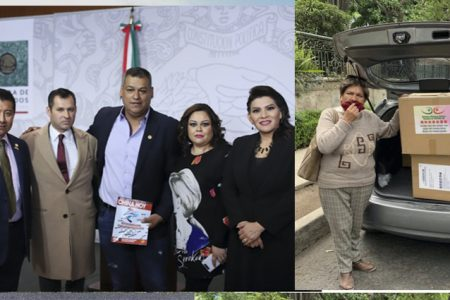 Comunidad china en México dona 50 mil cubrebocas a la Cámara de Diputados