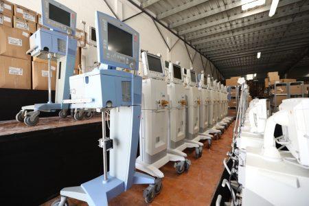 Yucatán se anticipó a la llegada del Covid-19 y compró 110 respiradores