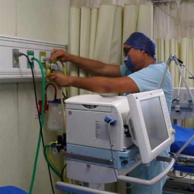 Acondicionan área exclusiva para Covid-19 en el Hospital O'Horán
