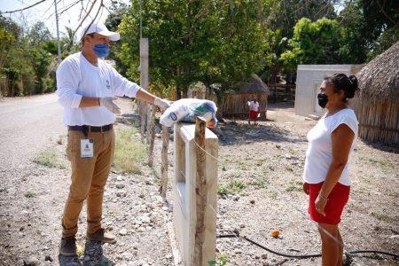 Alcaldes resaltan el apoyo extraordinario que envió el Gobierno de Yucatán