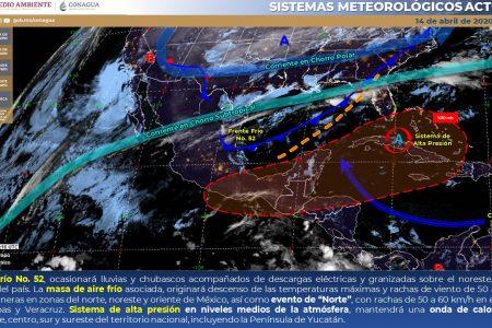 Yucatán, con Covid-19 y calor extremo: 45 grados en Motul y 42.8 en Mérida