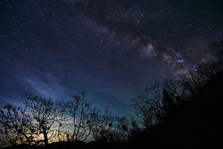 Lluvia de estrellas Líridas a partir de hoy, a las 10 de la noche