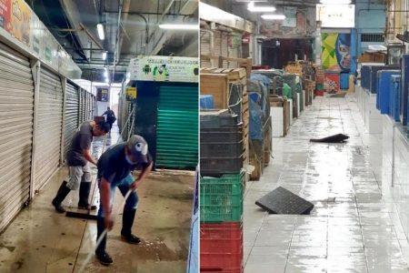 Echan al coronavirus de los mercados de Mérida