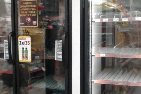 Compras de pánico propician desabasto de bebidas alcohólicas