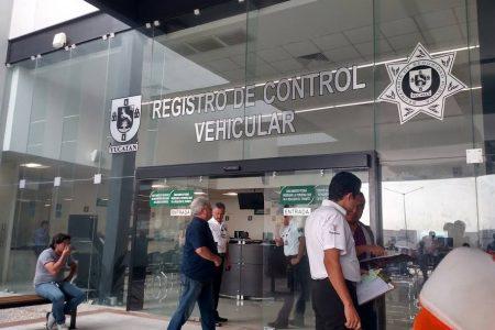 El reemplacamiento en Yucatán, hasta el 1 de septiembre