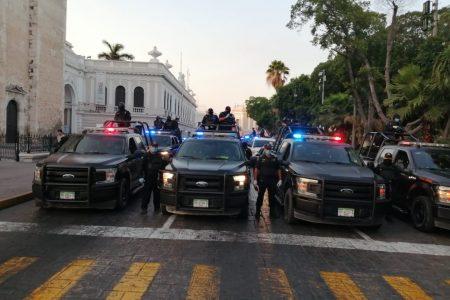 Fuerza policiacas inician una campaña de concientización contra el Covid-19