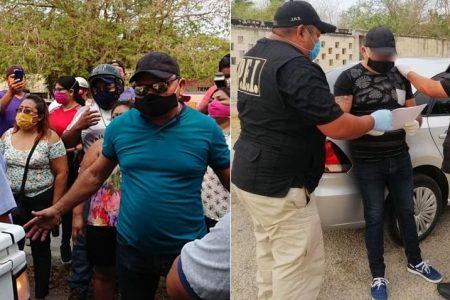 Inician proceso penal contra 'Tornado' por el robo de las despensas en Umán