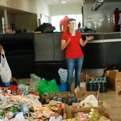 'Mérida nos Une' rebasa expectativas gracias a la solidaridad de la gente