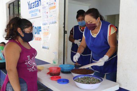 Espacios de Alimentación benefician a familias yucatecas incluso con Covid-19