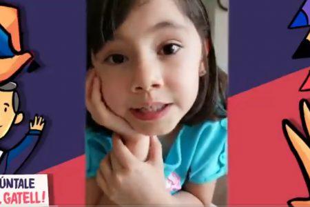 "La pequeña Alexandra, inesperada protagonista de la dinámica ""Pregúntale a Gattell"""