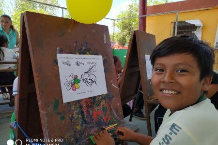 A dibujar abejas y saborear miel nativa: convocan a un concurso estatal de dibujo infantil