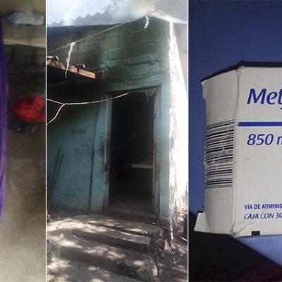 Piden apoyo para familia de Chablekal vulnerable: están enfermos y sin dinero
