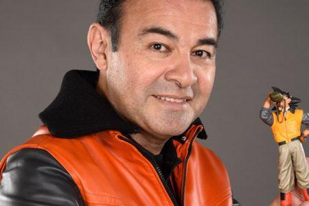 """""""Don Goku"""", Mario Castañeda, recibe felicitaciones en el día del emblemático personaje"""