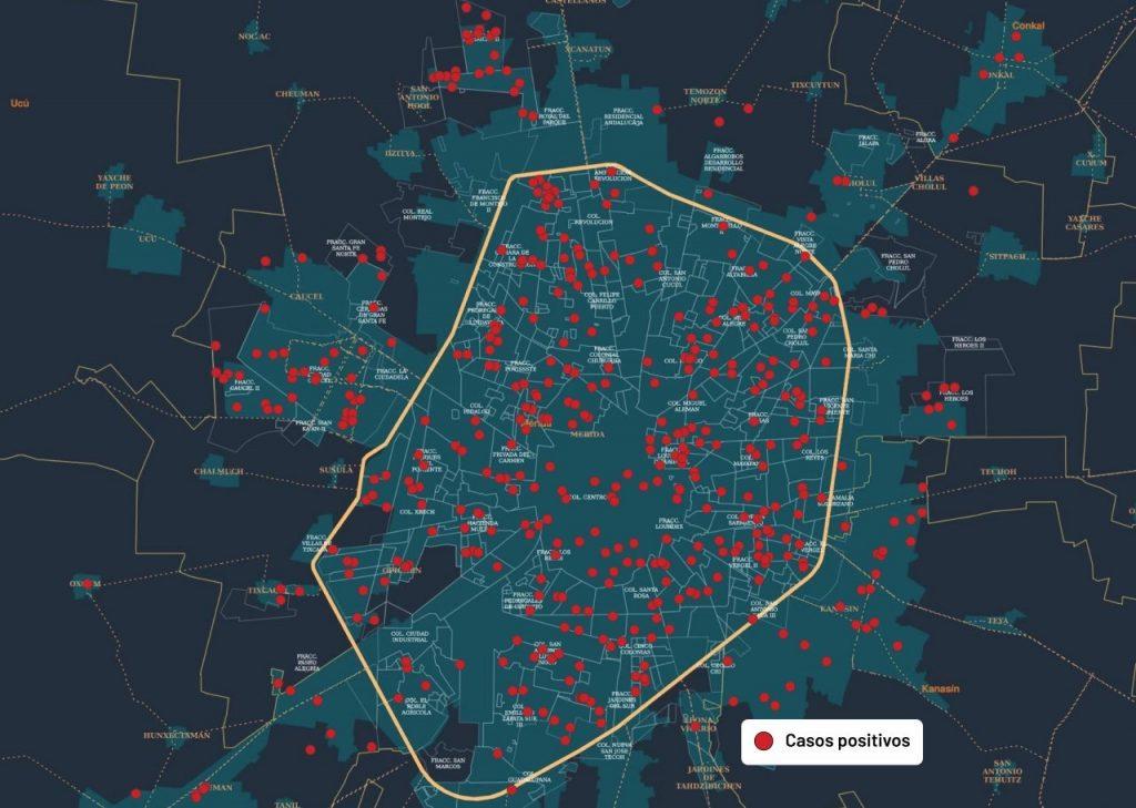 Covid-19 enluta a 20 municipios de Yucatán: hoy se suman Motul y Opichén