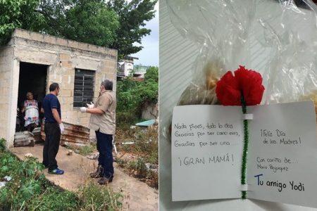 Carnicero benefactor de Kanasín extiende su noble labor en el Día de la Madre