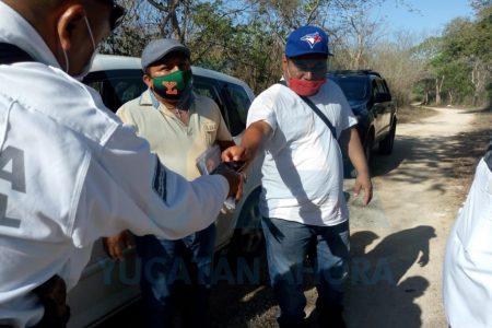 Detenidos por disturbio en un filtro sanitario: llegaron de Cancún