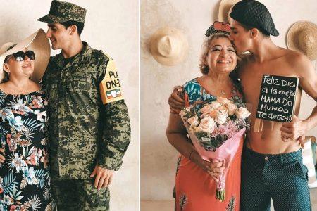 Rommel Pacheco sigue consintiendo a su mamá, ahora por su cumpleaños