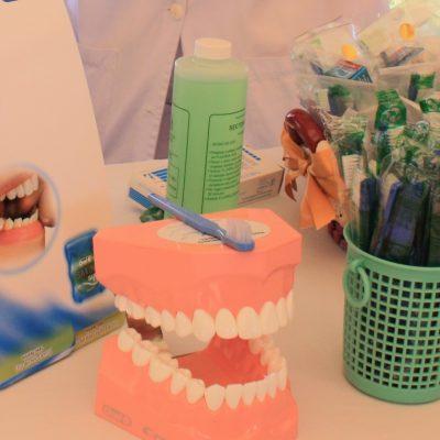 Estamos en cuarentena, pero no olvides cepillarte los dientes