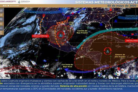En el Día de la Santa Cruz, Conagua pronostica solo lloviznas para Yucatán