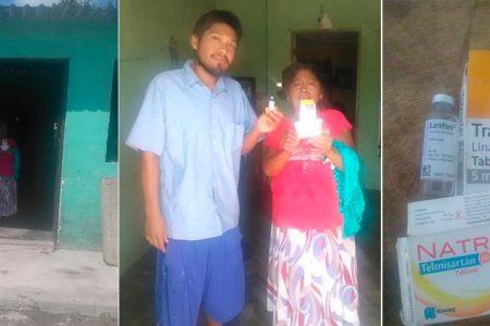 Madre e hijo dibéticos piden ayuda para sus tratamientos