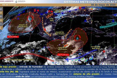 ¿Caerán ya las ansiadas lluvias? Conagua pronostica tormentas para Yucatán
