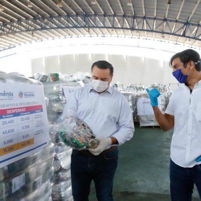 Suma de voluntades para ayudar a los vulnerables por el Covid-19 en Mérida