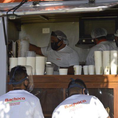 Por la pandemia de Covid-19, Bachoco dona 250 toneladas de pollo
