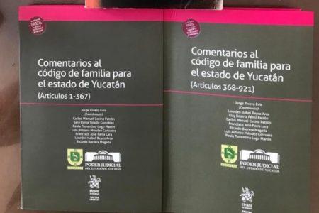 Disponible libro con comentarios sobre el Código de Familia de Yucatán