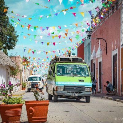 Nómadas argentinos varados en Mérida, sorprendidos con la bondad de los yucatecos