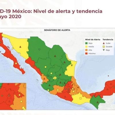 Yucatán, en alerta máxima por Covid-19: creciente tendencia de casos