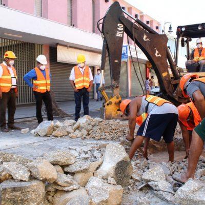 Japay repara con éxito otra megafuga en el Centro Histórico de Mérida