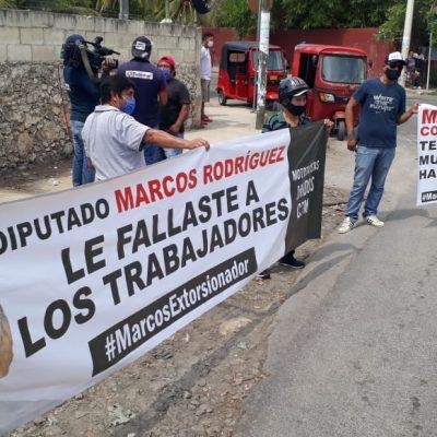 Mototaxistas acusan a diputado cetemista de lucrar con la necesidad por el Covid-19