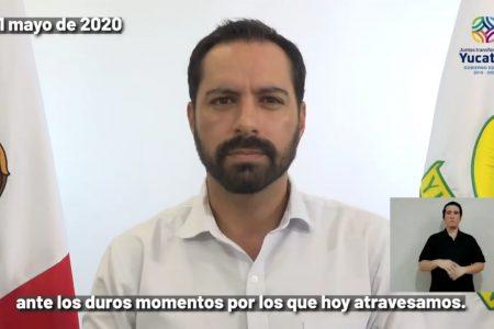 Lamenta Mauricio Vila que Morena y el PRI festinen bloqueo al plan de empleo