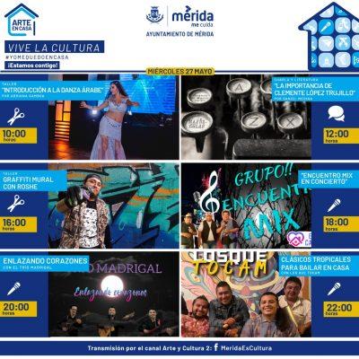 """El programa """"Arte en Casa"""" seguirá apoyando a los artistas durante junio"""