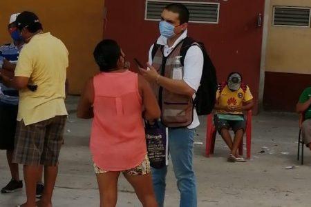 Nueva entrega de apoyos federales sin Sana Distancia. en municipios yucatecos