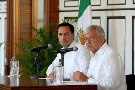Eventos de AMLO en Mérida, con menos de 50 personas