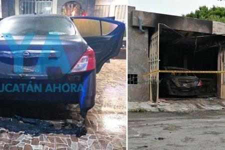 Por viejas rencillas, sujetos queman auto de enfermera: videocámara los delata
