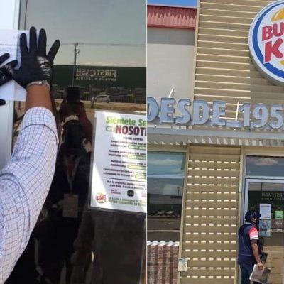 Por propiciar aglomeración de gente, clausuran Burger King de Ciudad Caucel