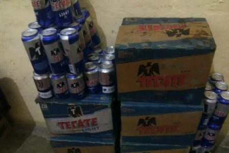 Presentan ante el juez a ladrones de cerveza en Kanasín