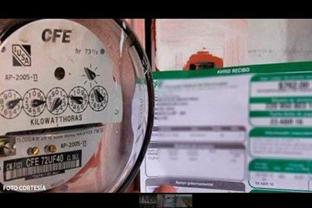 Admite CFE que calcula el consumo de usuarios yucatecos al tanteo