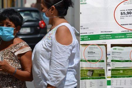 Otra de CFE: quiere cobrarle seis mil pesos a yucateca pobre y con discapacidad